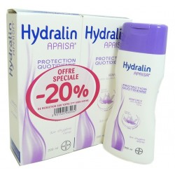 Hydralin Apaisa Protection Quotidienne Soin D'hygiène Intime - Lot 2 X 200ml