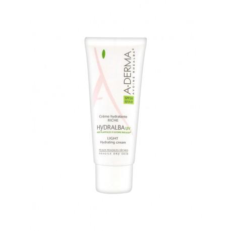 A-Derma Hydralba Crème Hydratante Riche SPF 20 40 ml