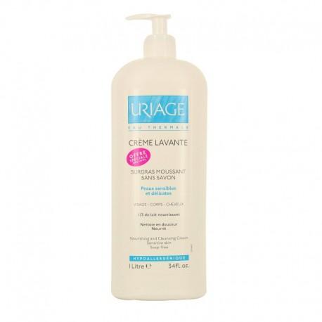 Uriage crème lavante surgras sans savon 1l
