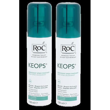 Roc keops déodorant fraîcheur 100ml