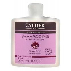 Cattier Moelle De Bambou Shampooing Cheveux Secs 250 Ml