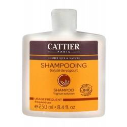Cattier Shampooing Usage Fréquent Soluté De Yogourt 250 Ml