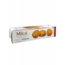 Milical Biscuits Fourrés Vanille - Lot 8 X 200 G