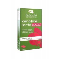 Biocyte Keratine Forte 1000mg 40 Gélules