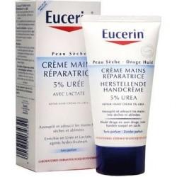 Eucerin Crème Mains Réparatrice 5% Urée 75 Ml