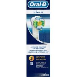 Oral-b 3d White Brossette De Rechange 3 Brossettes