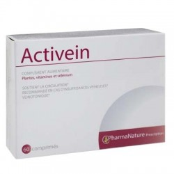 Pharma Nature Prescription Activein Complément Alimentaire 60 Gélules