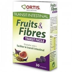 Ortis Fruits & Fibres Transit Facile 30 Comprimés