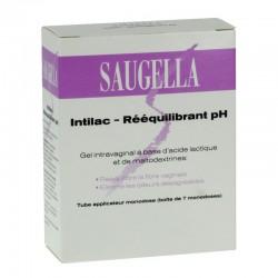 Saugella Intilac Rééquilibrant Ph Gel Intravaginal 7 Doses