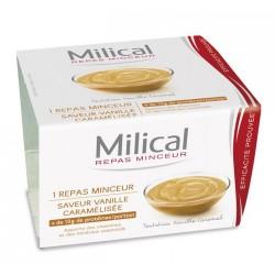 Milical Coupelle Repas Minceur Saveur Vanille Caramel 1 Coupelle