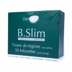 Diet World B-slim Transit Detox Tisane Minceur 30 Infusettes