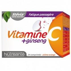 Nutrisante Vitamine C + Ginseng 24 Comprimés à Croquer