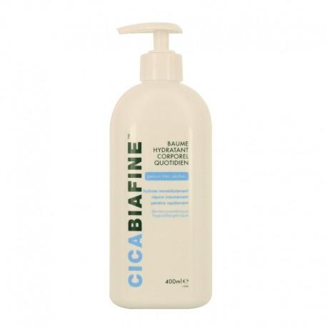 Biafine cicabiafine baume hydratant corporel quotidien 400ml